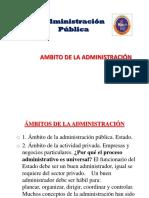 2. Administración Publica