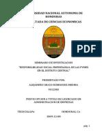 Responsabilidad Social Empresarial de Las Pymes en El Distrito Central
