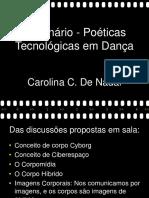 Poéticas e tecnológicas