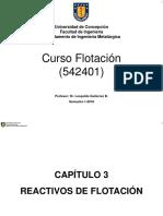 Capitulo 3-Reactivos de Flotacion