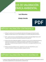 Métodos de Valoración Económica Ambiental