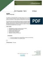 CADtech Seminars - AutoCAD_Essentials-Pt1