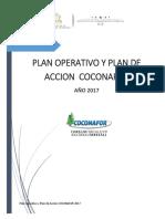 Poa y Plan de Accion 2017 Coconafor