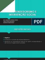 Empreendedorismo e Intervenção Social 01 - Copia