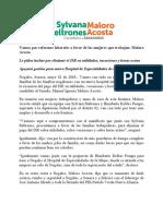 02/05/2018 Vamos Por Reformas Laborales a Favor de Las Mujeres Que Trabajan