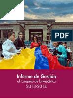 Informe de Gestion MI 2013-2014
