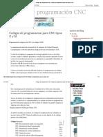 Códigos de Programación CNC_ Codigos de Programacion Para CNC Tipos G y M