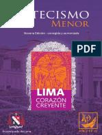 Catecismo Menor-Arzobispado de Lima