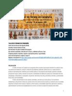 Programa Taller de Verano en Curaduría-CASA2018