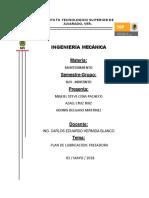 Manual de Mantto Fresadora