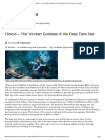 Olokun – the Yoruban Goddess of the Deep Dark Sea _ Goddess Inspired