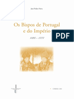 Os Bispos de Portugal e Do Imperio 1495