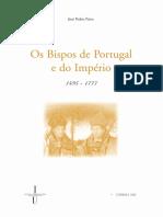 Os Bispos de Portugal e Do Imperio 1495