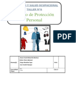 informe N°6 equipo de proteccion persona