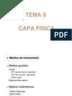 TEMA 8 -Capa Fisica