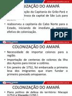 Aula 02 - Coloniza+º+úo do Amap+í
