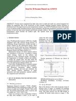 Parameter Optimization for H-beams Based on ANSYS Workbench DesignXplorer