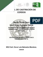 Manual Técnico de Castración de Cerdos
