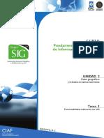Funcionalidades Básicas SIG