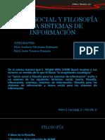 Teoría Social y Filosofía Para Sistemas de Información