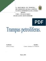 Trampas Petrolíferas