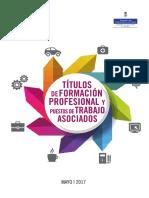 Guía. Títulos de FP del Sistema Educativo y puestos de trabajo asociados