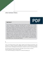 JDP on Writing
