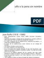 Narradores y Personajes Pedro Páramo