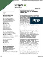 1.05) Princípio Da Isonomia Tributária - Iuris Brasil