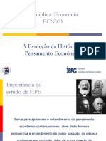 Historia Do Pensamento Economico