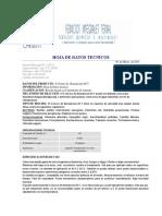 S-Cloruro de Benzalconi 80 T