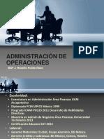 Apuntes Administracion de Operaciones