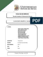 Prescripcion Adquisitiva o Usucapion