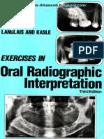 Exercises in Oral Radiographic Interpretations