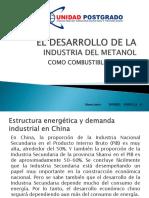 Desarrollo de La Industria Del Metanol Como Combustible en China