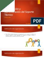 Organizacin y Administracion Del Soporte Tecnico - Introduccion