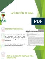Afiliacion Al Imss MODALIDAD 32