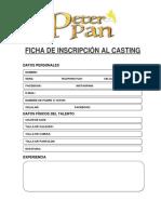 Ficha Casting