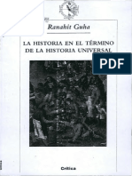 Guha_La Historia en El Término de La Historia Universal