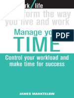 Work Life - Manage Your Time - Control Your Workload.pdf
