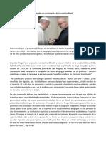 Bergoglio Es Un Tiempista de La Espiritualidad