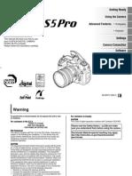 Fuji S5 Pro English Operation Manual