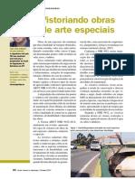Artigo - Vistoriando Obras de Arte Especiais