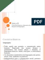 Aula I Conceitos de Linguagem.ppt