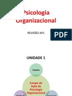 SLIDES AP1 Psicologia Organizacional.pps