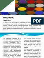 Curso Ingenieria Textil i Unidad IV
