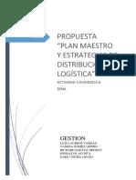 Propuesta Plan Maestro y Estrategias de Distribucion Logistica GAES 3222