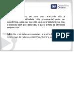 Direito Empresarial Professora Elisabete Vido - PDF