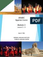 Egyptian Arabic - Mod 02