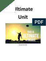 ultimate sportfolio unit plan
